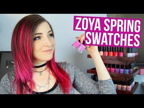 Zoya Spring 2018 Nail Polish Live Swatch + Review|| KELLI MARISSA