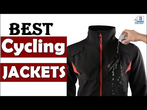 BEST Cycling Jacket Review | Windproof | Waterproof | Reflective strip | Best Cycling Jackets 2017 |