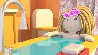 Мультики для девочек - Кукольный домик Бьянки - Ванная комната