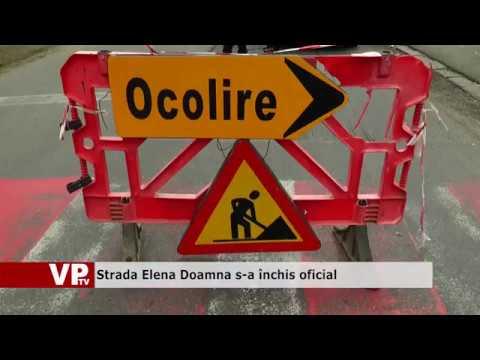 Strada Elena Doamna s-a închis oficial