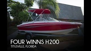 Used 2008 Four Winns H200 for sale in Titusville, Florida