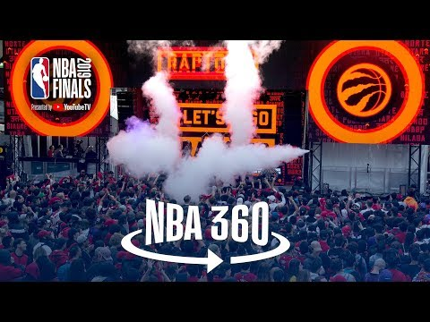 NBA 360 | Raptors Win Game 1 Toronto Celebrates