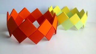 How To Make Bright Paper Bracelets - DIY Crafts Tutorial - Guidecentral