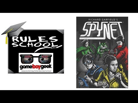 Learn How to Play Spynet (Rules School) with the Game Boy Geek