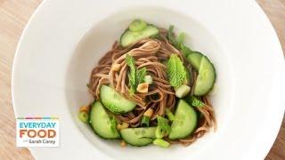 Asian Noodle Salad - Everyday Food With Sarah Carey
