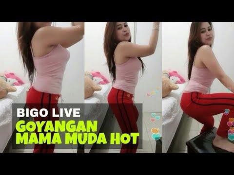 BIGO LIVE, Goyangan Mama Muda Bikin Tegang