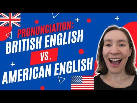 Download British English vs. American English: Pronunciation Mp4 HD Video and MP3