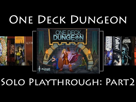 One Deck Dungeon: Rules Overview & Solo Playthrough - Part 2
