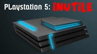 PLAYSTATION 5 NON SERVE A NIENTE.