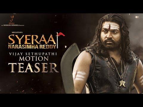 Vijay Sethupathi Motion Teaser From Sye Raa Narasimha Reddy