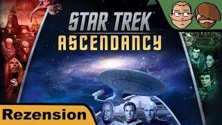 Star Trek Ascendancy (Aszendenz) - Brettspiel - Review