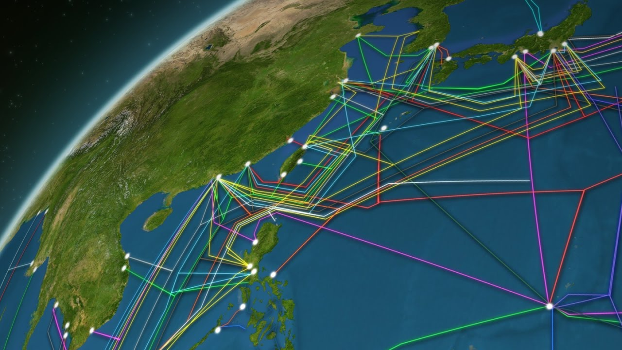 99 Per Cent Of All Internet Traffic Travels Through These Undersea Cables