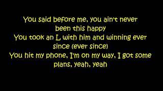 Khalid Ft. 6LACK & Ty Dolla Sign   OTW (Lyrics On Screen)