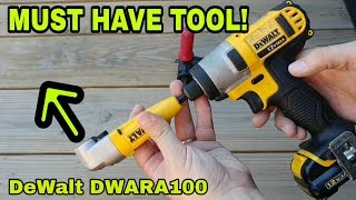 DeWalt Right Angle Adapter for Drill or Impact Driver