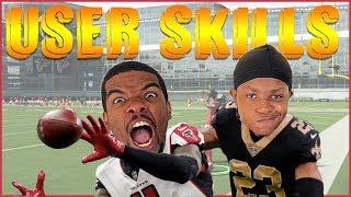 92 Speed Julio Jones vs 93 Speed Marshon Lattimore! Who's Better?!