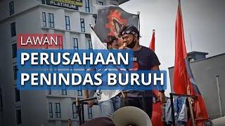 Demonstran Lion Air Sebut Akan Lawan Pemerintah yang Lindungi Perusahaan Penindas Buruh