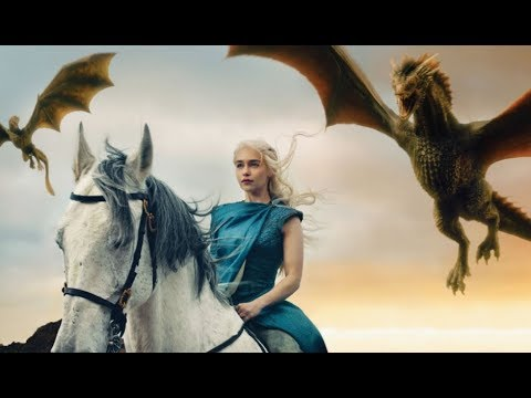 Game Of Thrones~All dragon scenes seasons 1-7