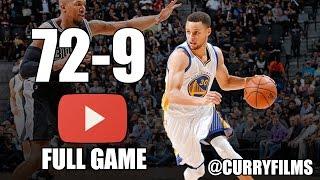 Golden State Warriors vs San Antonio Spurs - Full Game Highlights - April 10, 2016 - 2016 NBA Season