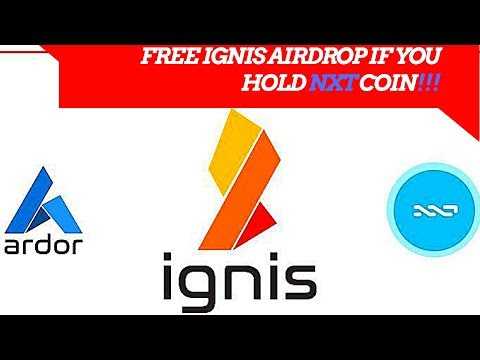 NXT COIN TO AIRDROP FREE IGNIS!!!!!!!
