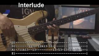 Alive Again By Planetshakers (Bass Lesson WTABS)