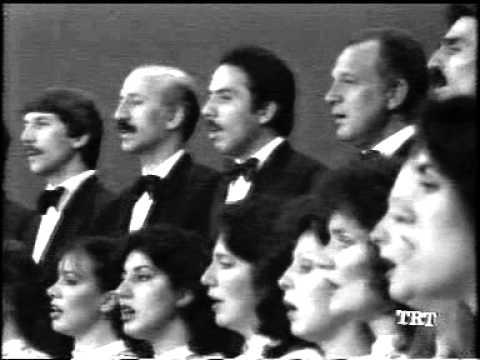Devlet Korosu Prof. Dr. Nevzat ATLIĞ (Siyah Beyaz TRT Konseri 1.bölüm)