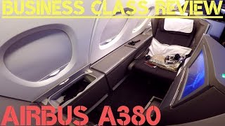 British Airways A380 BUSINESS CLASS London To Hong Kong Review