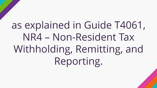Canadian citizen living abroad rental income tax