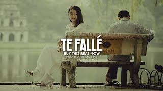 "Base De Rap Romantico ""Te Fallé"" Pista De Rap Triste - Doble A nc Beats"