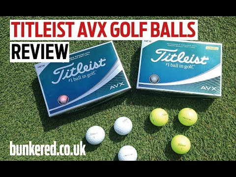 Titleist AVX golf balls review