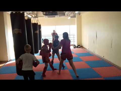 Sparing in children  Спаринг у детей