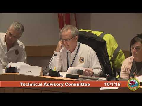 Technical Advisory Committee 10.1.2019