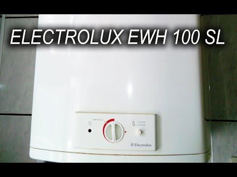 Бойлер ELECTROLUX EWH 100 SL через 15 лет непрерывного использования...