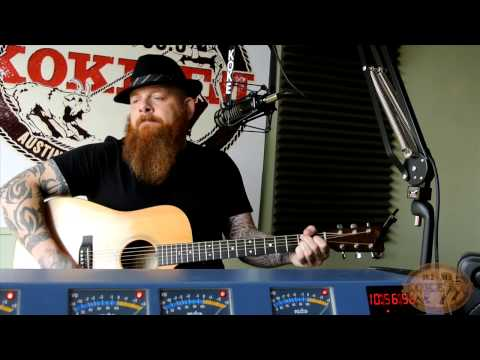 Brandon Jenkins live on Koke-FM performing The River