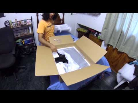 unboxing monitor asus  VE248Q 24 pulgadas