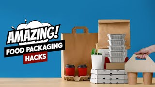 Amazing Food Packaging Ideas & Hacks | #ProcureWithBizongo | Product Packaging