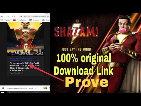 Shazam Movie 100% Original Download Link || How To Download Shazam Movie Hindi+English+Russia.