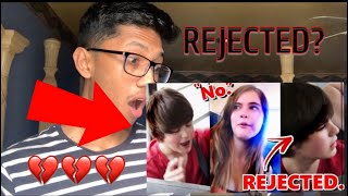 REACTING TO KID ASKING OUT CRUSH AND GETTING REJECTED!!