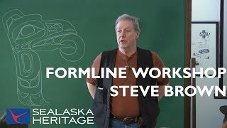 How To Draw Formline With Steve Brown, Part 1   Sealaska Heritage