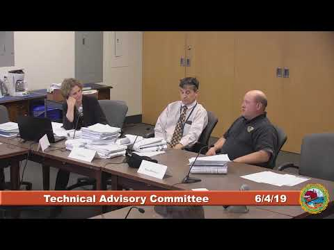 Technical Advisory Committee 6.4.2019