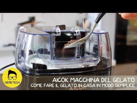 AICOK Macchina del Gelato - Come fare il gelato in casa