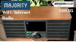 Majority Peterhouse Graduate £70 Internet WiFi Radio.  FULL REVIEW