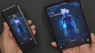 Samsung Galaxy Fold In Cosmos Black Unlocked Unboxing (Video/Audio Test) Comparison 2 Huawei Mate X