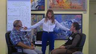 Мастер-Класс Введение-8 в Генеративный Коучинг | Ричард и Оксана Коннер Золотой шар энергии