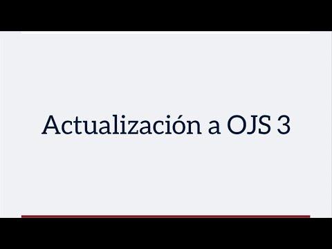 Actualización a OJS 3