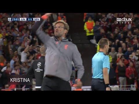 Top Jurgen Klopp LFC Crazy Reactions ● Passions ● Goal Celebrations HD