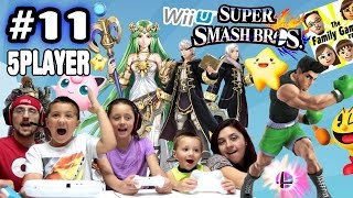 FGTEEV Super Smash Bros Noobs Are Back with More 5 Player Noobyness Fun Gameplay!  :P