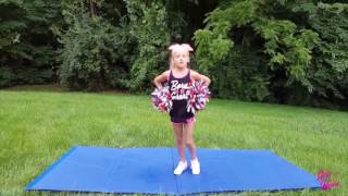 Girl With Heart Brooklynn Helps Her Cheerleading Squad Win First Place