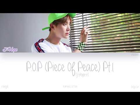 [HAN|ROM|ENG] J-Hope (제이홉) - P.O.P (Piece Of Peace) Pt.1 (Color Coded Lyrics)