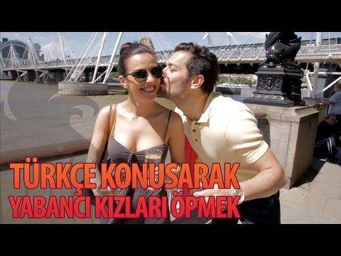 Türkçe Konuşarak Yabancı Kızları Öpmek - Hayrettin 🇬🇧