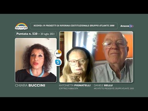 Anteprima del video Daniele BELLU, Antonietta PIGNATELLIProgetti di riforma costituzionale Gruppo Atlante 2000
